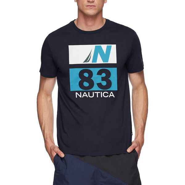 JCLASS 83 GRAPHIC TEE, NAVY, hi-res