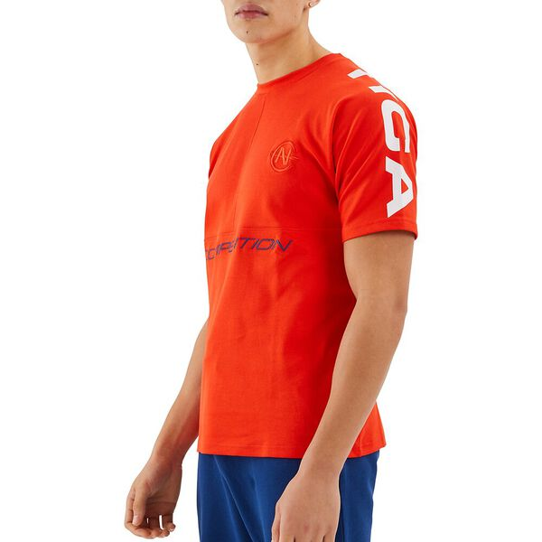 Nautica Competition Dinghy Tee, Red, hi-res