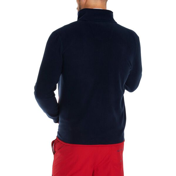 Nautex Pop Collar Full Zip Fleece, Navy, hi-res