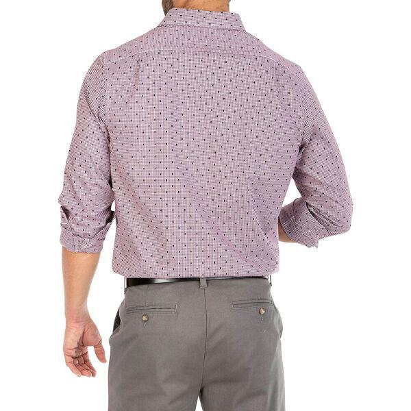 Navtech Printed Gingham Shirt, Zinfandel, hi-res