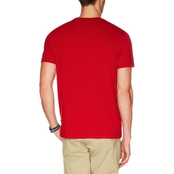 Big & Tall Active Stretch Pocket Tee, Nautica Red, hi-res