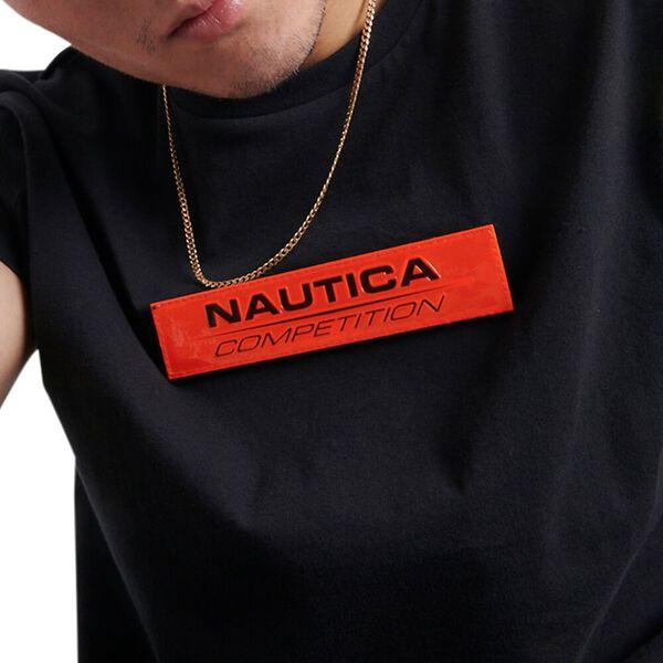 Nautica Competition Renzo Tee, Black, hi-res
