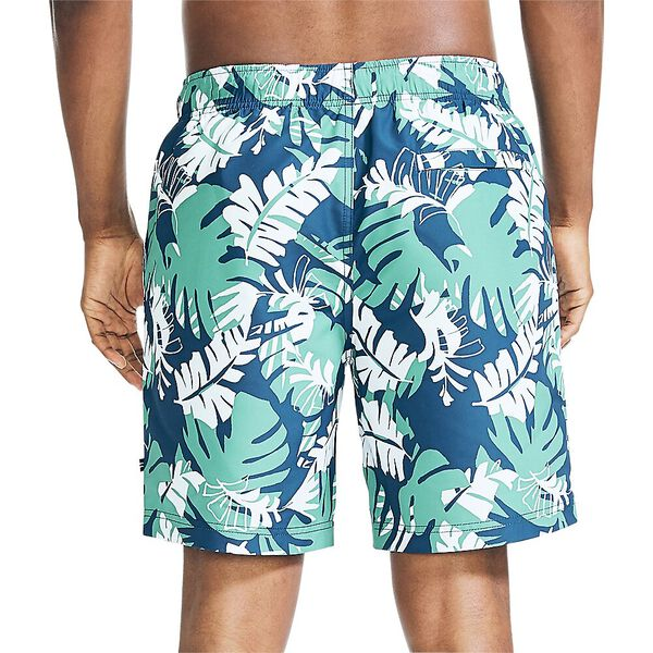 "Sustainably Crafted Island Inspired 8"" Swim Shorts, Estate Blue, hi-res"
