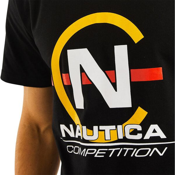 Nautica Competition Hoy Tee, True Black, hi-res