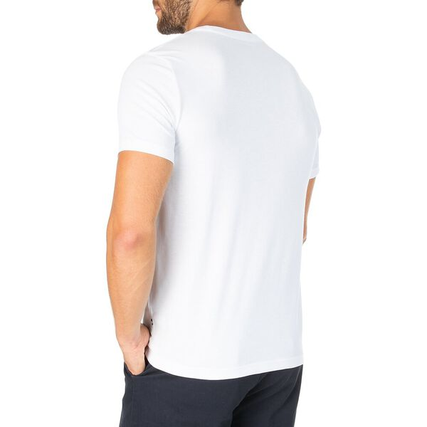 Sustainably Crafted J Class Varsity Tee, Bright White, hi-res