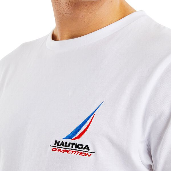 Nautica Competition Dandy Tee, Bright White, hi-res