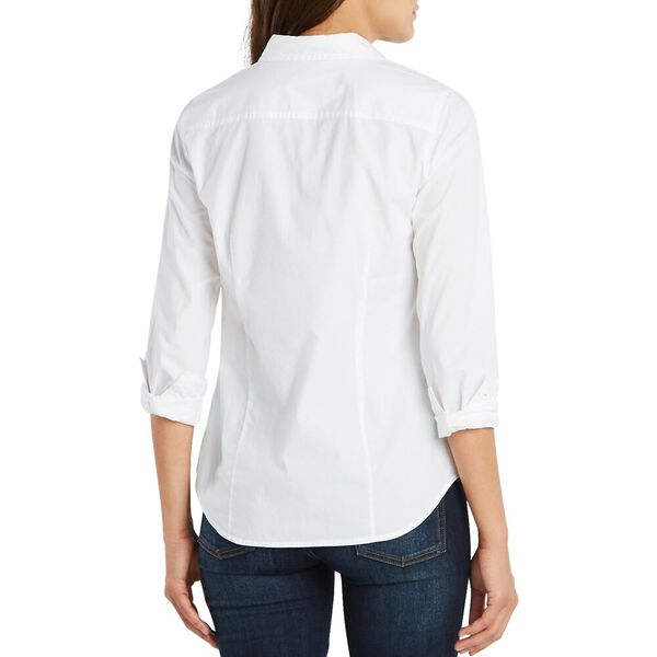 Perfect Shirt In Stretch Cotton, Bright White, hi-res