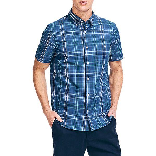 Navtech Plaid Shirt, Estate Blue, hi-res