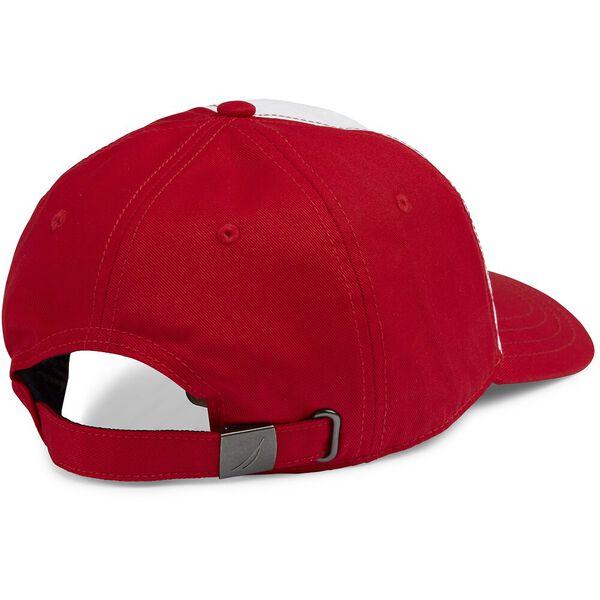 BLUE SAIL 5 PANEL CAP, NAUTICA RED, hi-res
