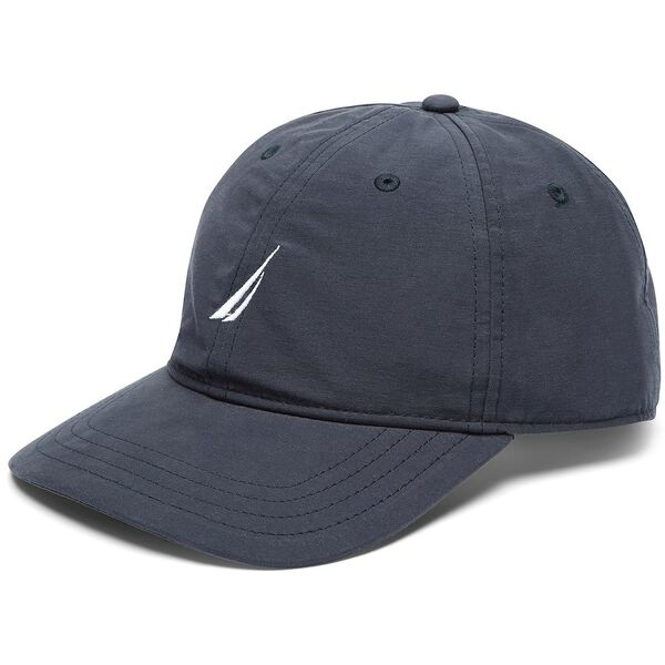 6 Panel Performance Hat, Navy, hi-res
