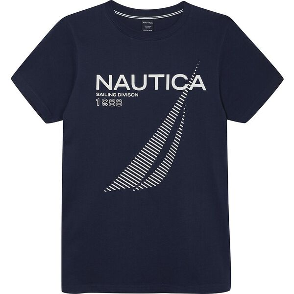 Boys 8-14 Skipper Graphic Tee, Navy, hi-res