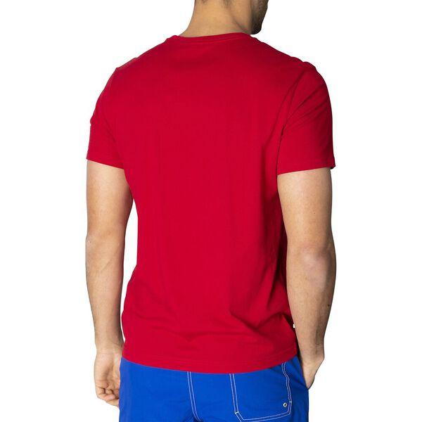 The Blue Sail Club Short Sleeve Tee, Naut Red, hi-res