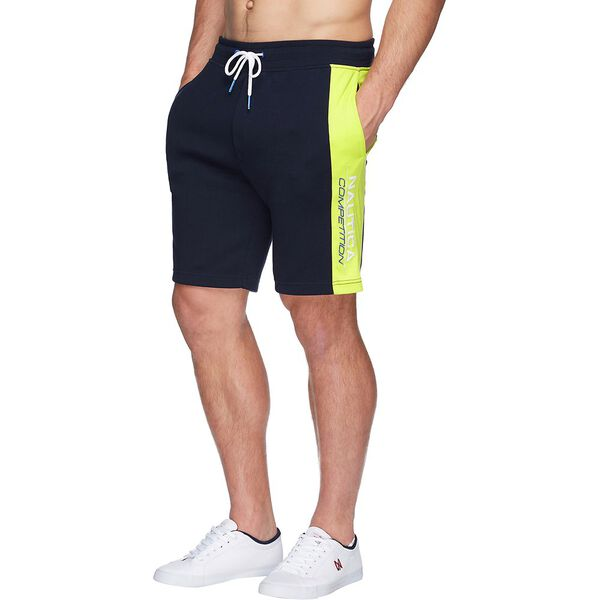 NAUTICA COMPETITION TRACK SHORT, NAVY, hi-res