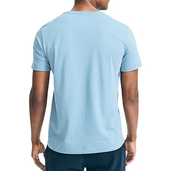 Sustainably Crafted Set Block Tee, Moonlight Blue, hi-res