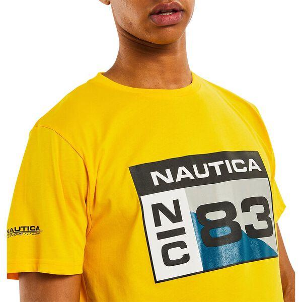 Nautica Competition Lagan Tee, Vibrant Yellow, hi-res