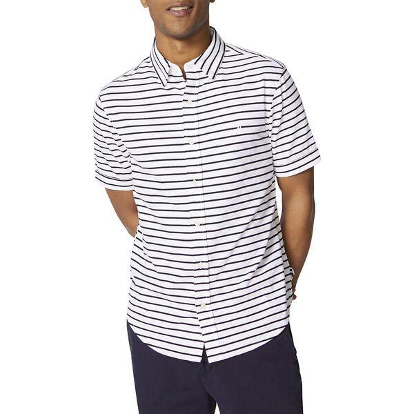 Classic Fit Jersey Short Sleeve Stripe Shirt