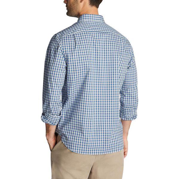 Preppy Plaid Wrinkle Resistant  Shirt, Limoges, hi-res