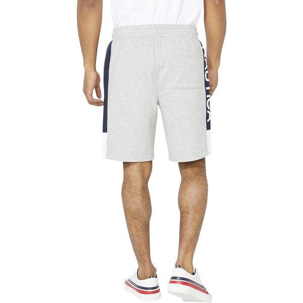 Nautica Heritage Sportswear Track Short, Grey Heather, hi-res
