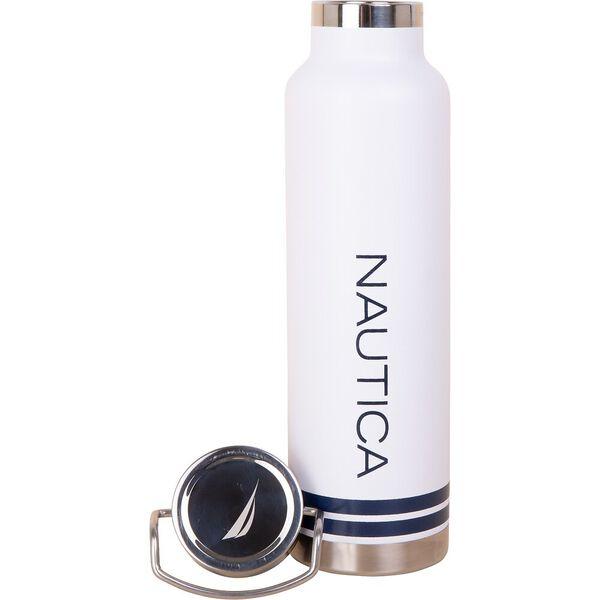 Nautica Copper Insulated Drink Bottle, Bright White, hi-res