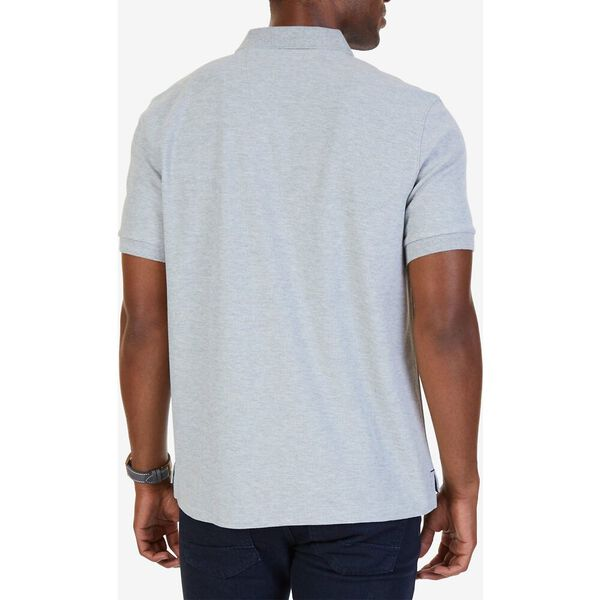 Short Sleeve Performance Deck Polo Shirt, Grey Heather, hi-res
