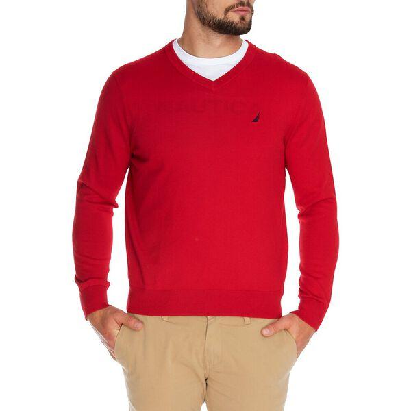 Big & Tall Navtech J-Class V-Neck Sweater