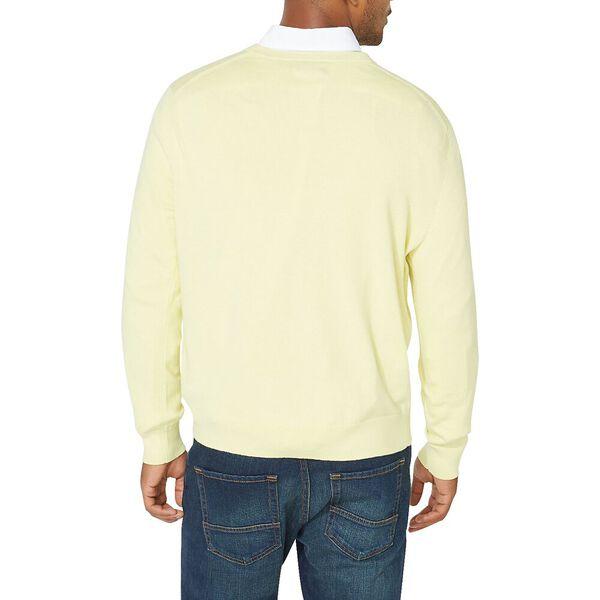 Navtech V-neck Jersey Sweater, Sour Lemon, hi-res