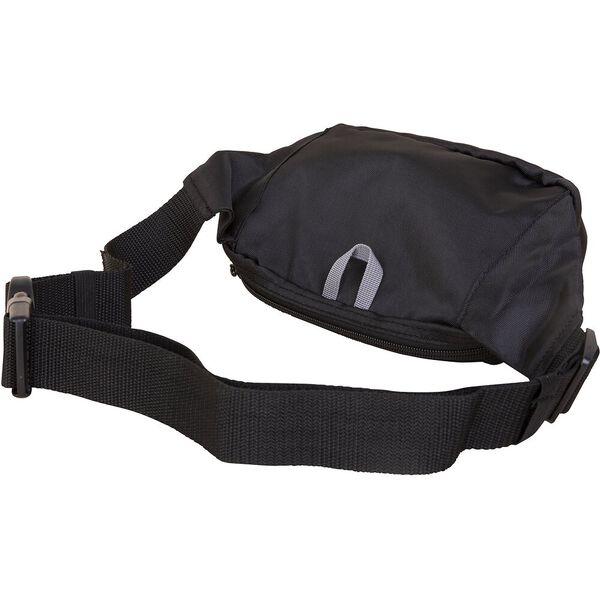 Panelled Bright Belt Bag, Black, hi-res