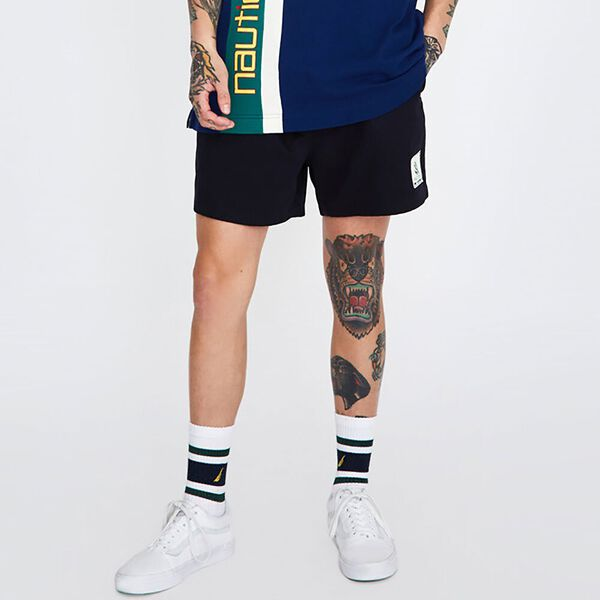 Rugby Short Blue Depths