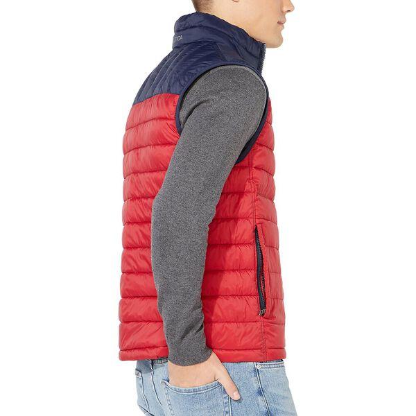 Lightweight Tempasphere Reversible Vest, Nautica Red, hi-res