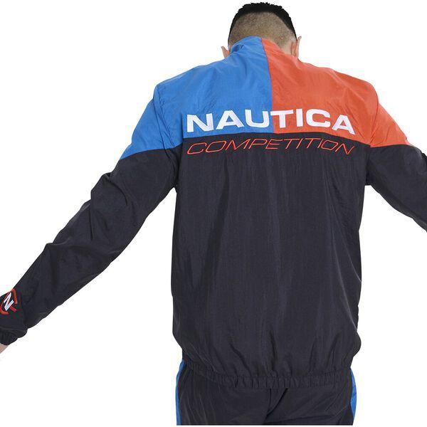 Nautica Competition Jester Track Jacket, Black, hi-res