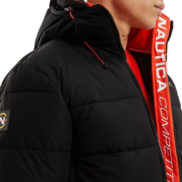 Nautica Competition Antigua Puffer Jacket, Black, hi-res