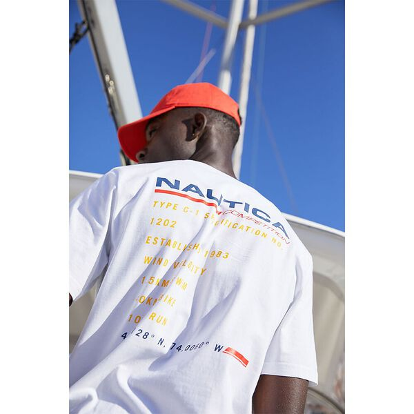 Nautica Competition Bullwark Tee, Bright White, hi-res