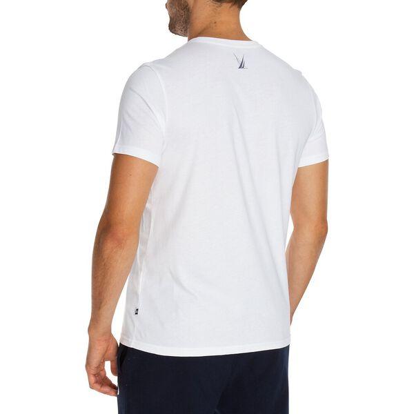 Full Cricle Short Sleeve Tee, Bright White, hi-res