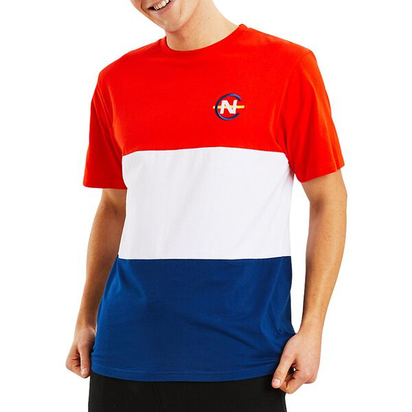 Nautica Competition Sayle Tee, Nautica Red, hi-res