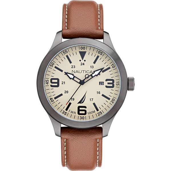 Point Loma Endeavour Watch, Brown, hi-res