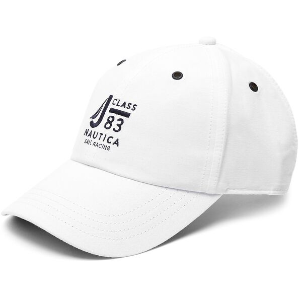 6 PANEL J-CLASS CAP, BRIGHT WHITE, hi-res