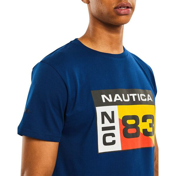 Nautica Competition Lagan Tee, Navy, hi-res