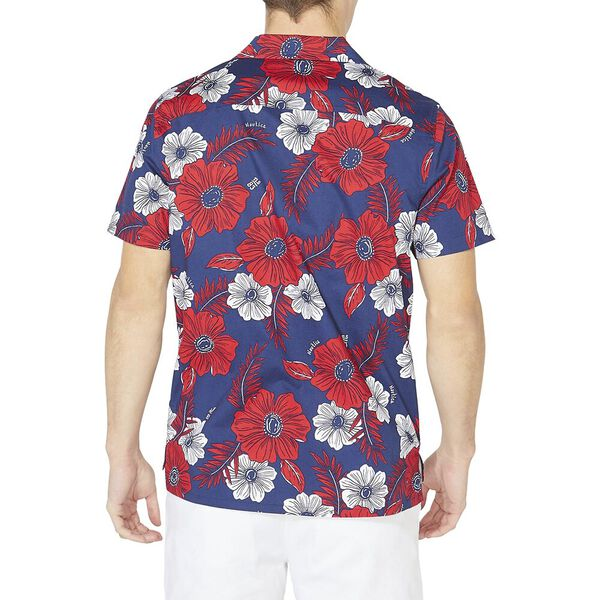 Nautica Jeans Co. Classic Fit Floral Print Shirt, J Navy, hi-res