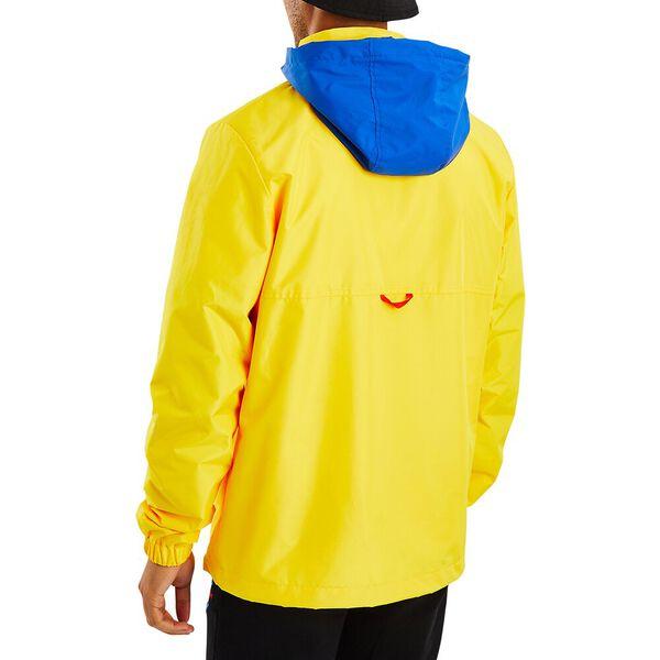 Nautica Competition Salvor 1/2 Zip Windbreaker, Blazing Yellow, hi-res
