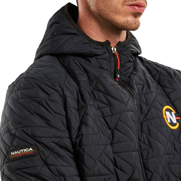 Nautica Competition Corsair Quilted jacket, Black, hi-res