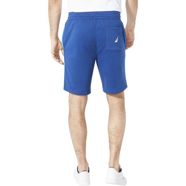 Branded Sweat Shorts, Estate Blue, hi-res