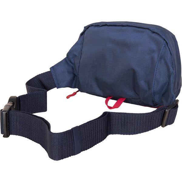 Panelled Bright Belt Bag, Red, hi-res