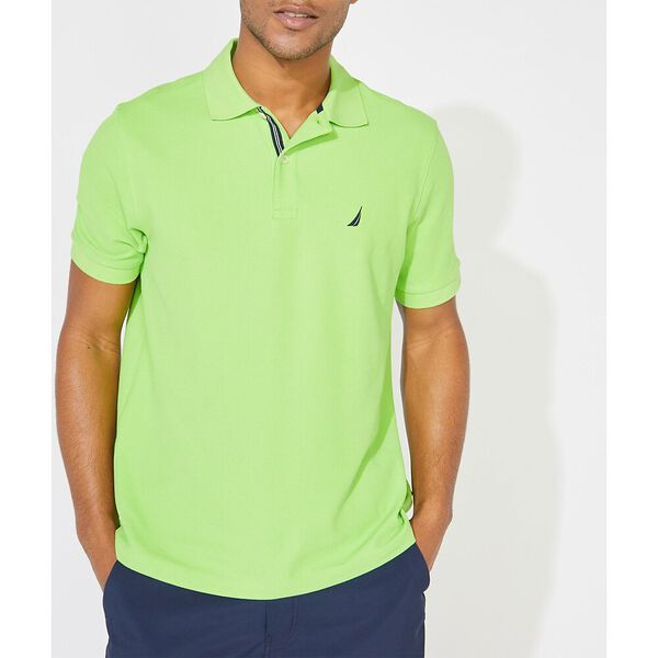 Performance Classic Fit Solid Deck Polo, Lime Surf, hi-res