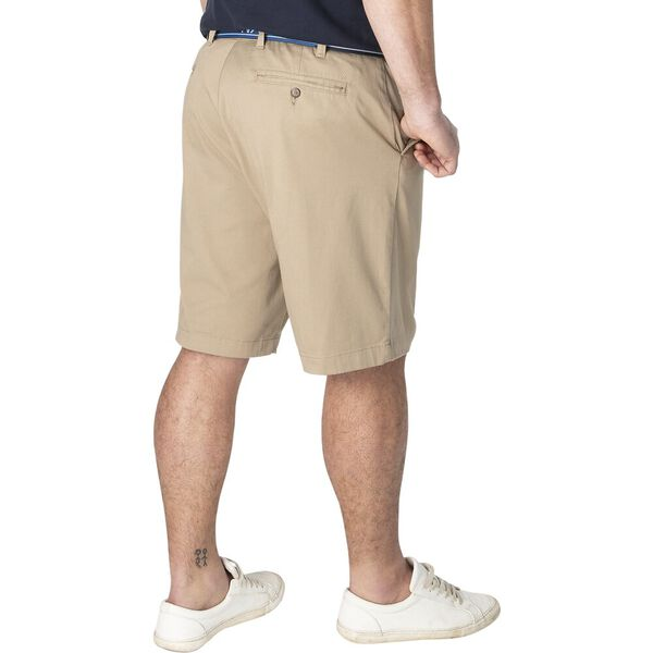 Big & Tall Flat Front Anchor Short, True Khaki, hi-res