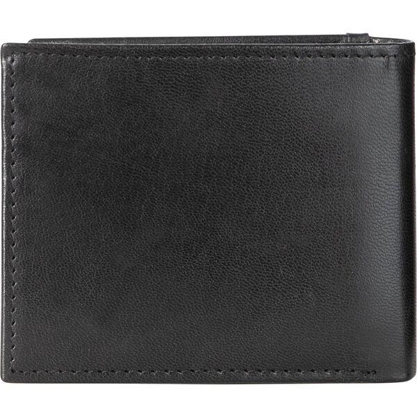 Leather Lohan Wallet, Black, hi-res