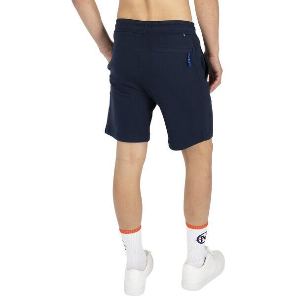 Classic Fit Track Shorts, Navy, hi-res
