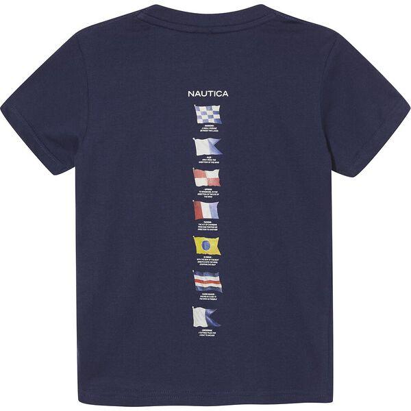 Boys 3 -7 Rower T-Shirt, Blue, hi-res