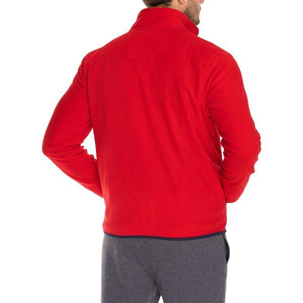 Nautex Pop Collar Full Zip Fleece, Nautica Red, hi-res
