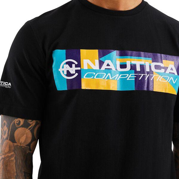 Nautica Competition Luff Tee, Black, hi-res
