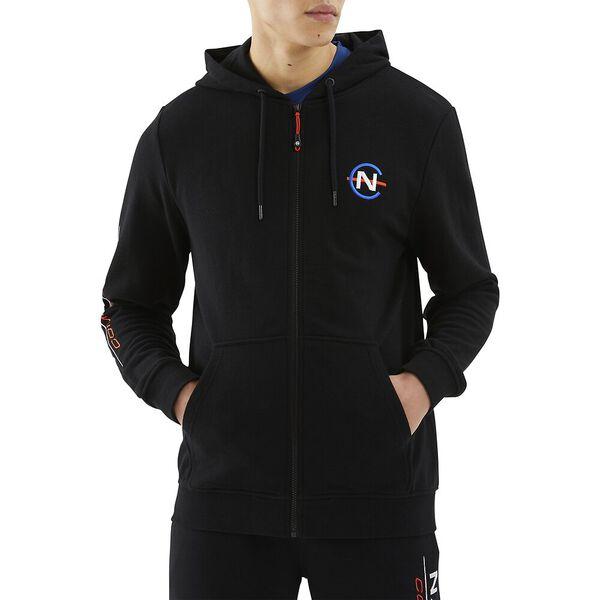 Nautica Competition Purser Full Zip hoodie, Black, hi-res